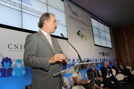 Ministro Aloizio Mercadante participa da cerimônia de abertura do 2º Congresso Todos pela Educação: Agenda de Todos, Prioridade Nacional