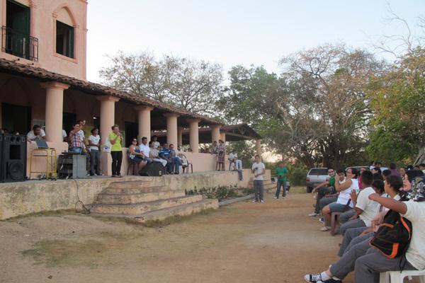O casarão que abriga o Ecomuseu. (Fonte: Blog Campinas Mais Solidária)