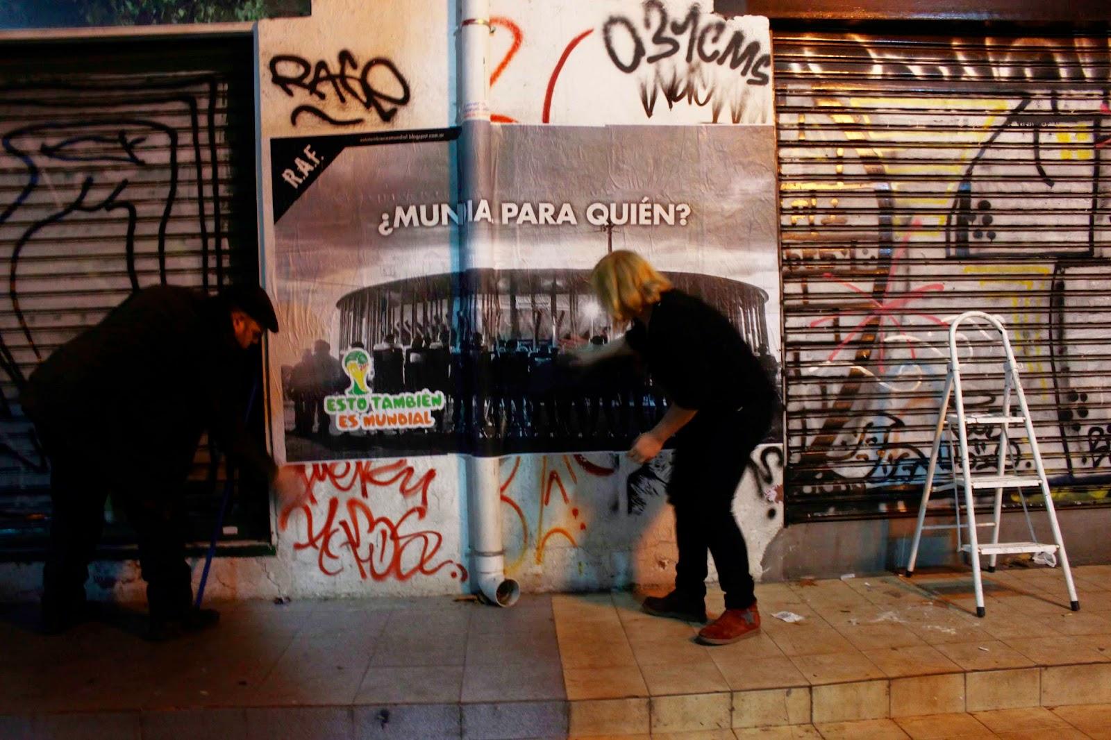 Ruas do centro da capital receberam intervenções artísticas.