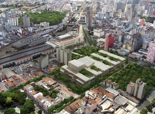 O projeto do Complexo Cultural Nova Luz segundo o escritório Herzog & de Meuron