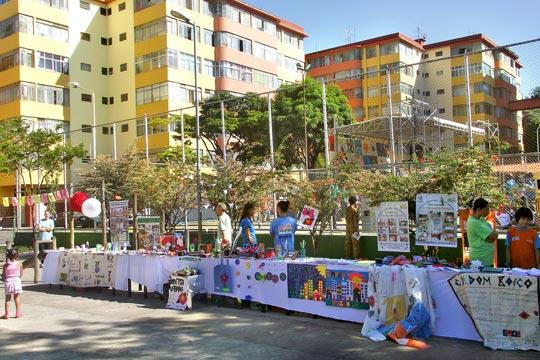 Festival de Escolas Integradas ocupa o Conjunto IAPI, em BH.