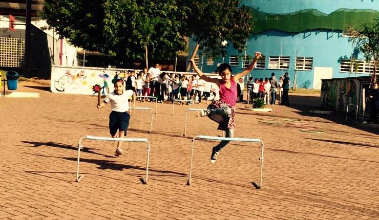 Atletismo no CEU Heliópolis