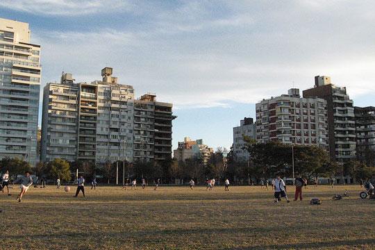 Espaços públicos são prioridade em Rosário.