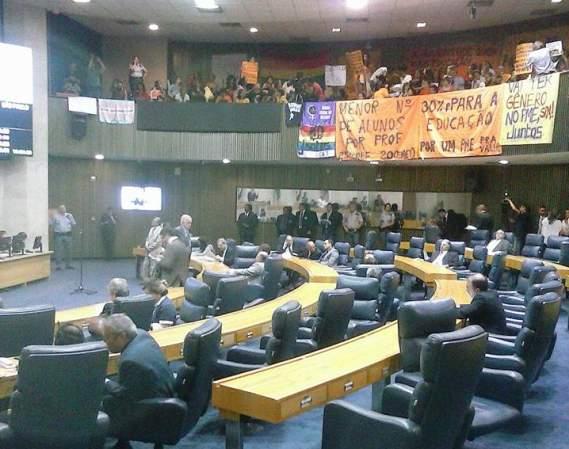 Votação do PME na Câmara dos Vereadores