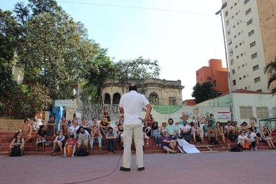 Aula pública sobre PAulo Freire