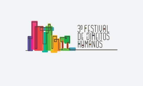 Logo vencedor do 3º Festival de Direitos Humanos
