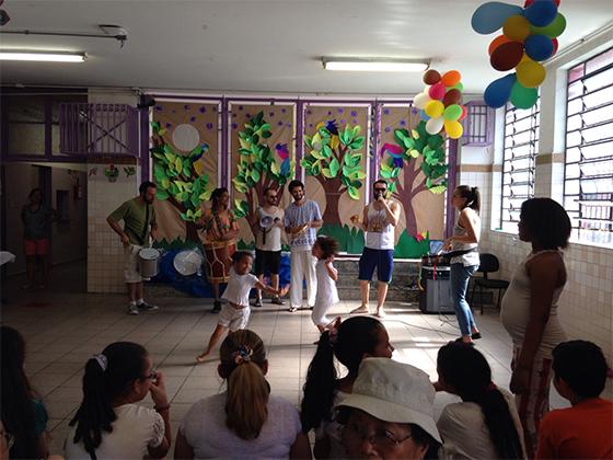 Dança na Virada Educação