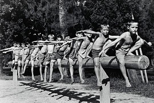 Parque Infantil Dom Pedro II, em 1938.