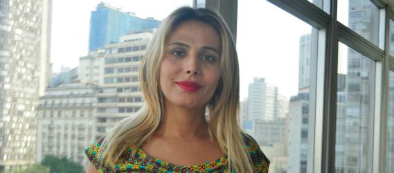 Paola Alves de Souza, pedagoga do projeto.