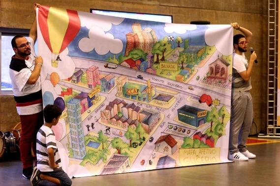 Rodrigo de Moura mostra o mapa afetivo do Glicério