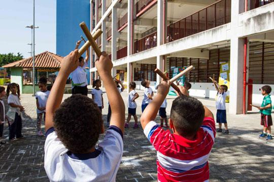 Os CEDHs criaram espaço de discussão sobre temas pouco presentes no currículo escolar e na comunidade, como direitos humanos, igualdade e diversidade.