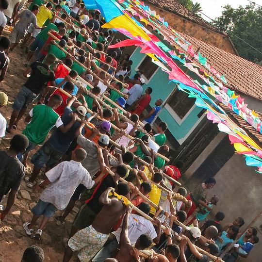 Festa do Divino, no interior do Maranhão.