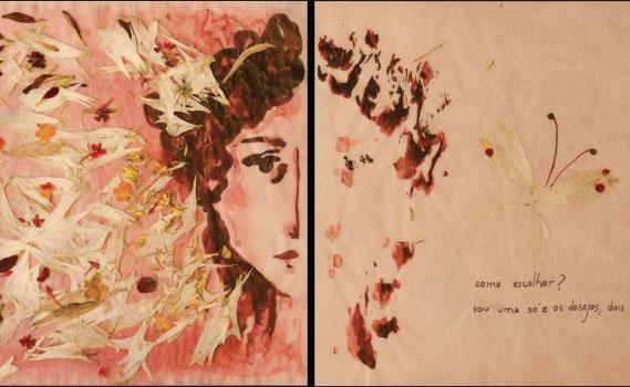 """""""Livres"""" foram feitos em aquarela em diálogo com obras de grandes autores do passado e a questão de gênero."""