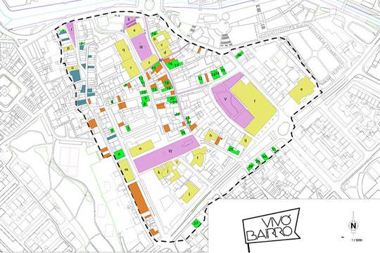 Vivó Bairro pretende dar vida à região central de Aveiro, trazendo novas possibilidades ao local e permitindo que a comunidade defina seus rumos.
