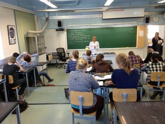 estudantes finlandeses