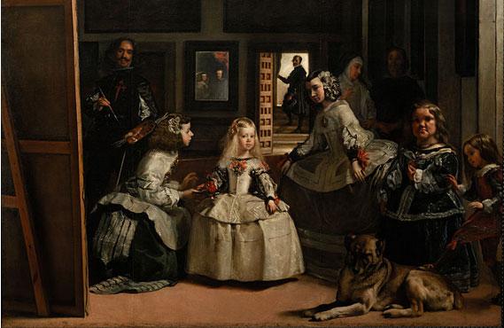 """O quadro """"Las Meninas"""", do espanhol Diego Velázquez"""
