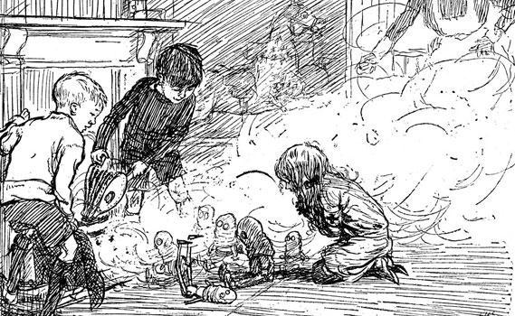 Livros de fantasia, aqueles que eram menos próximos da realidade, permitiram que as crianças aprendessem melhor.