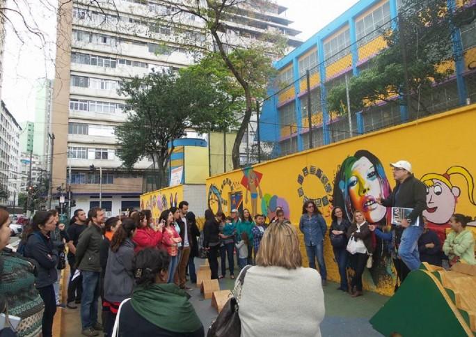 Aula Pública transforma Glicério em território educativo de São Paulo
