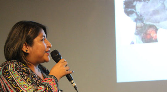 Veronica Yurja, do projeto Si Yo Puedo.