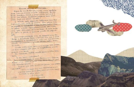 Carta de Paulo Freire enviada a Nathercinha. Créditos: divulgação