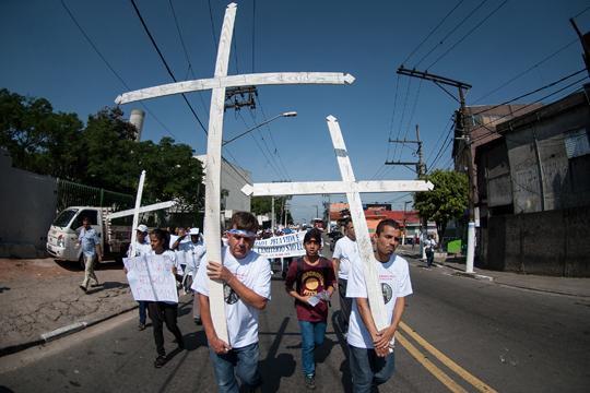 Mobilização acontece anualmente desde 1995, por iniciativa de moradores e organizações que atuam no Jardim Ângela em busca de paz.