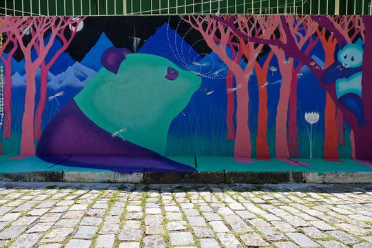 Ministrado pelo curador Baixo Ribeiro, o curso virtual Arte Urbana e Ativismo discute a transformação dos espaços públicos através da arte.