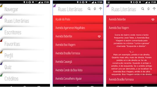 Gratuito, aplicativo indica os lugares da capital pernambucana que foram homenageados pela literatura brasileira.