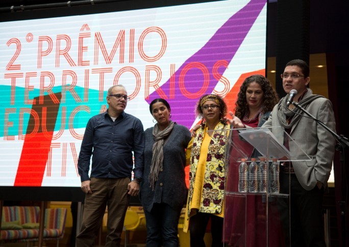 Prêmio Territórios Educativos reconhece projetos que unem escola e comunidade