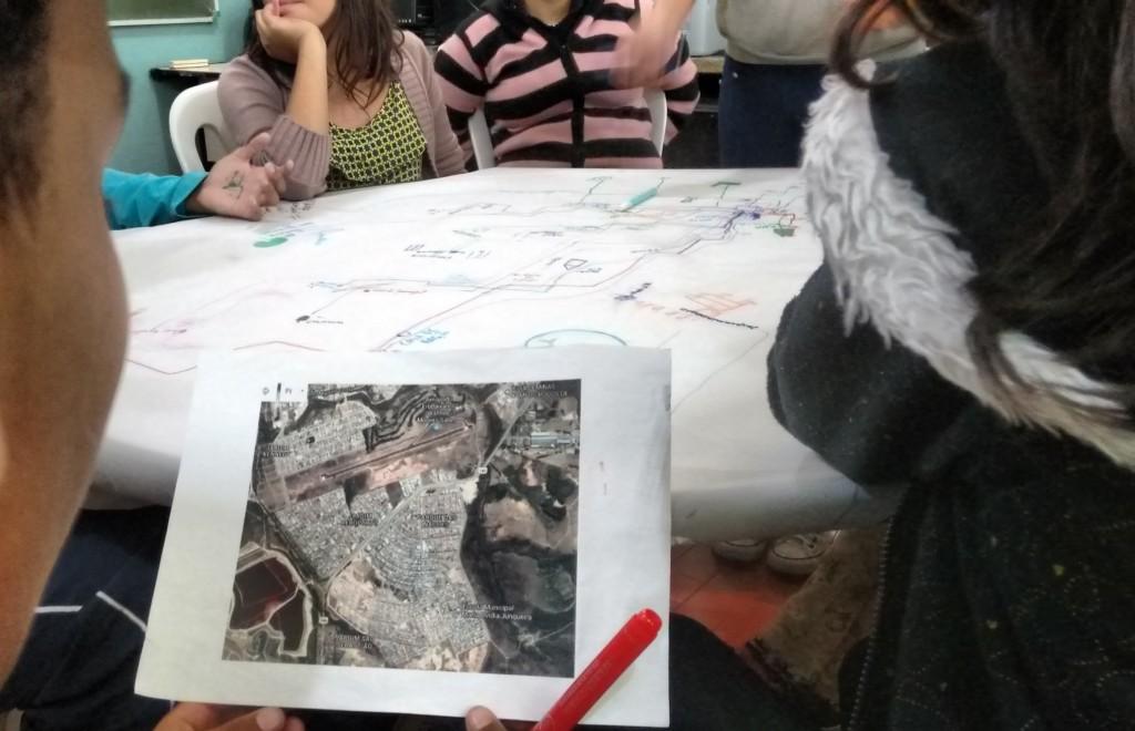 Com o projeto, as crianças passaram a entender a comunidade como um espaço vivo