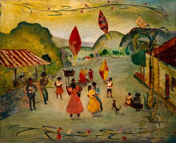 Festa de São João com Guirlanda (Anita Malfatti)