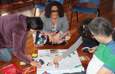 Atividades práticas buscaram sensibilizar e estimular novos olhares dos professores para questões ambientais