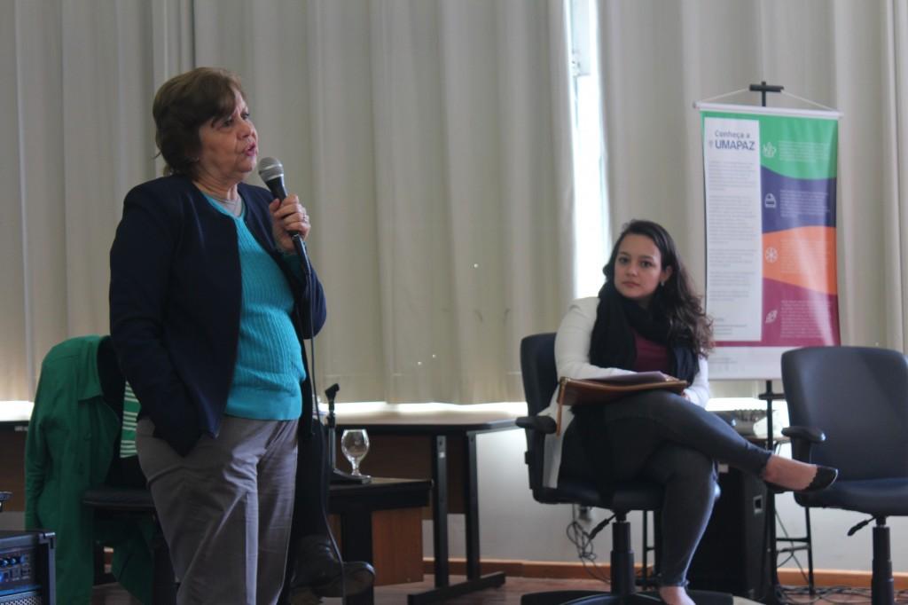 Rose Inojosa em seminário Educação Ambiental: Semeando a Cidade Educadora, que debateu a articulação da agenda com os ODS