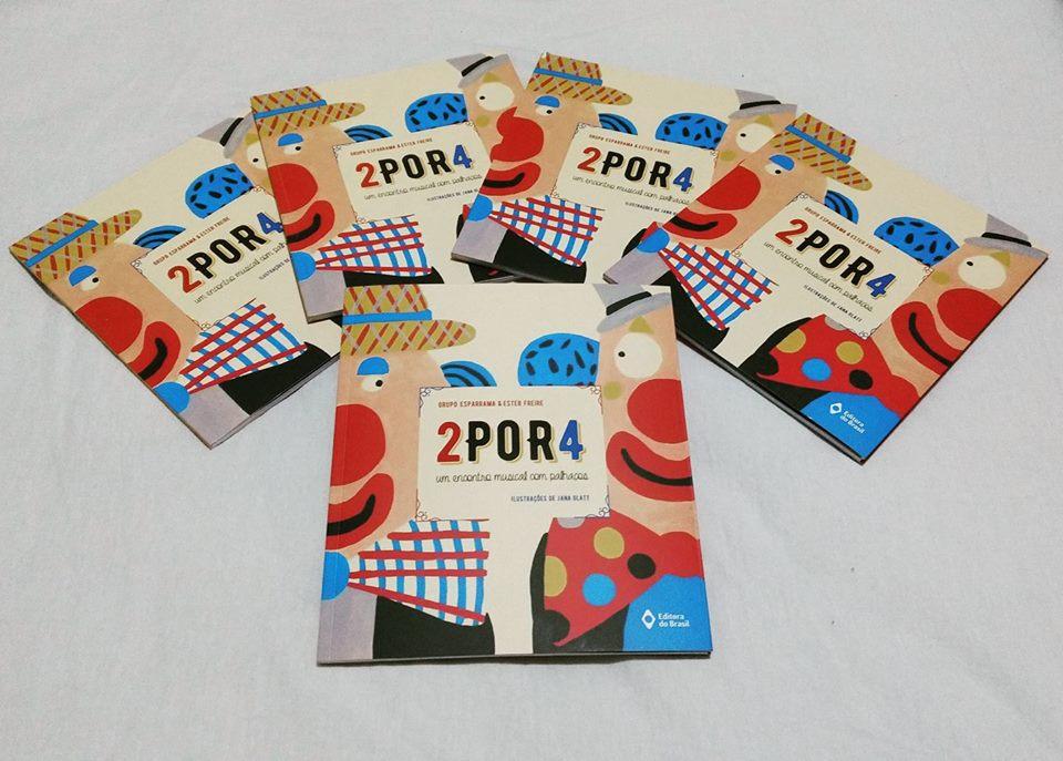 Lançamento do livro do Grupo Esparrama acontece no dia 14 de outubro