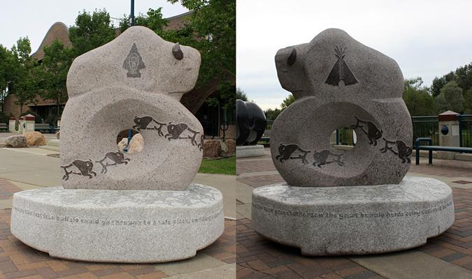 Obras de arte pública brincáveis