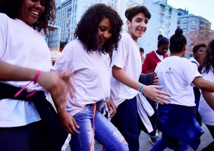 Virada Educação ocupa centro de São Paulo com arte e resistência