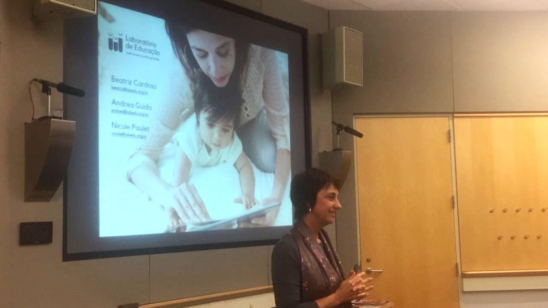 Beatriz Cardoso é a Fundadora e presidente do Laboratório da Educação