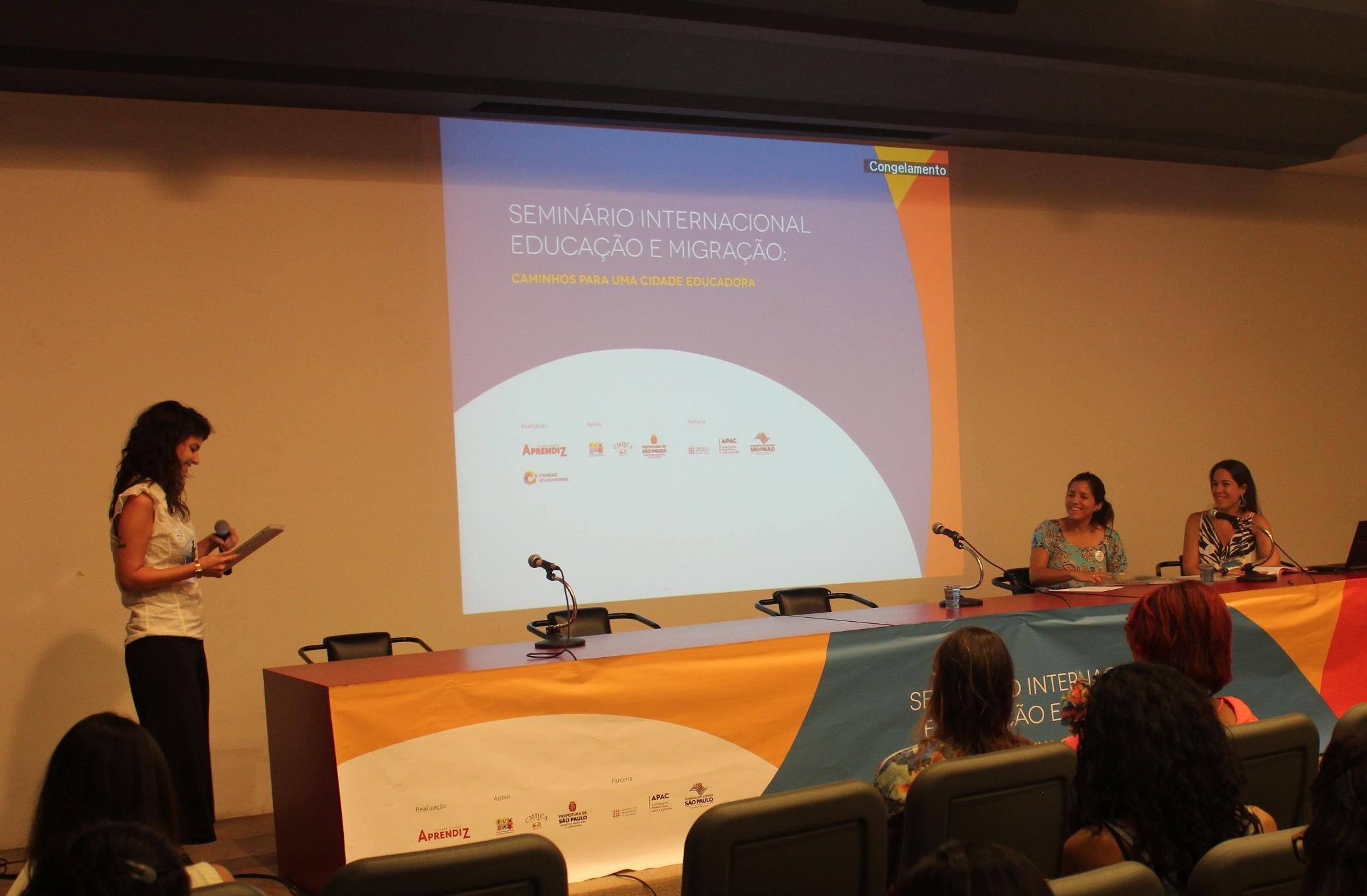 Seminário Internacional Educação e Migração discutiu infâncias migrantes na América Latina e Caribe, especialmente em São Paulo e no Bom retiro