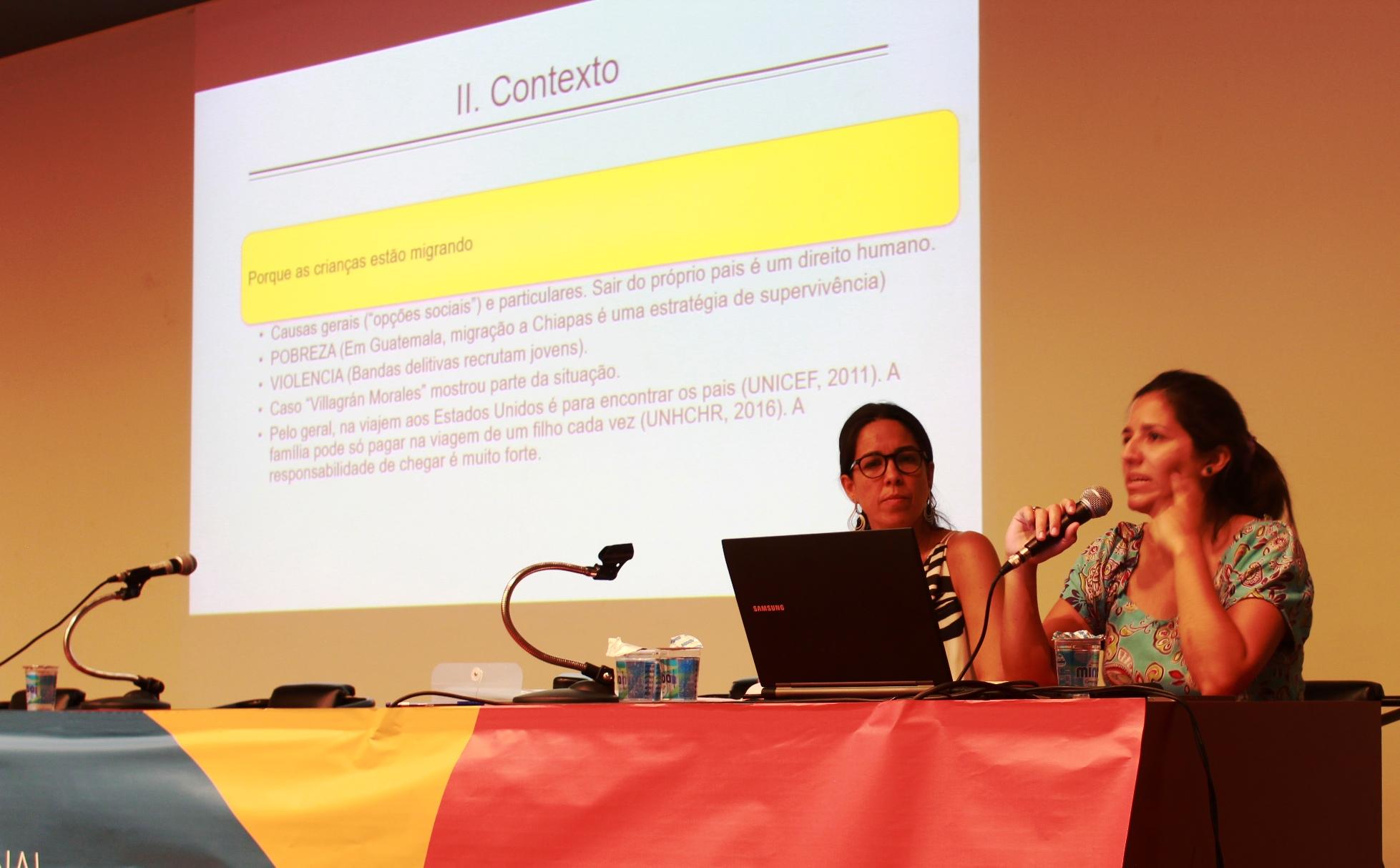 A fuga da miséria e da violência é a principal causa para migração de crianças, como expôs a pesquisadora lila Garcia
