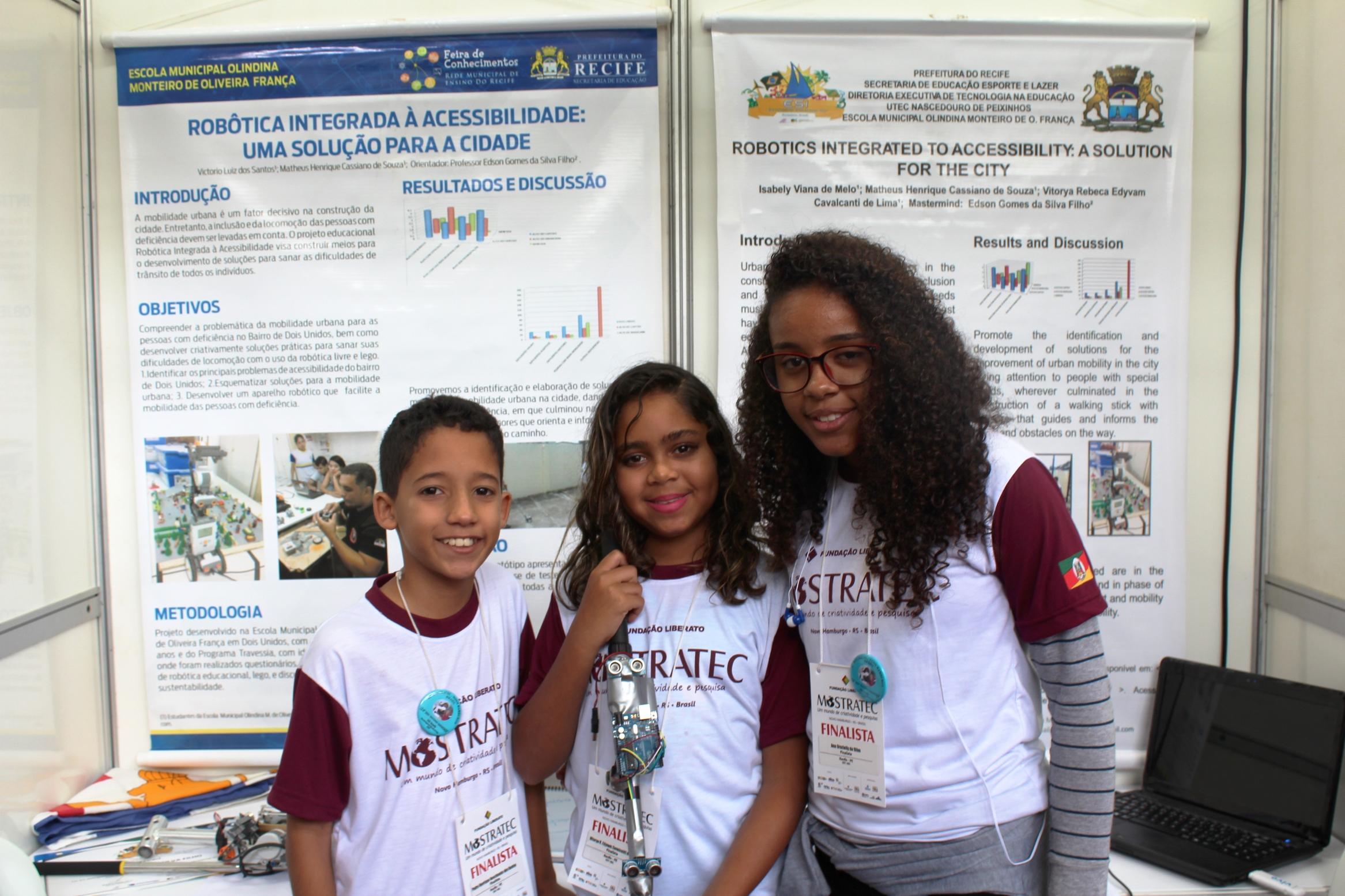 Acessibilidade aliada à cidade é o tema do projeto dos alunos de Recife