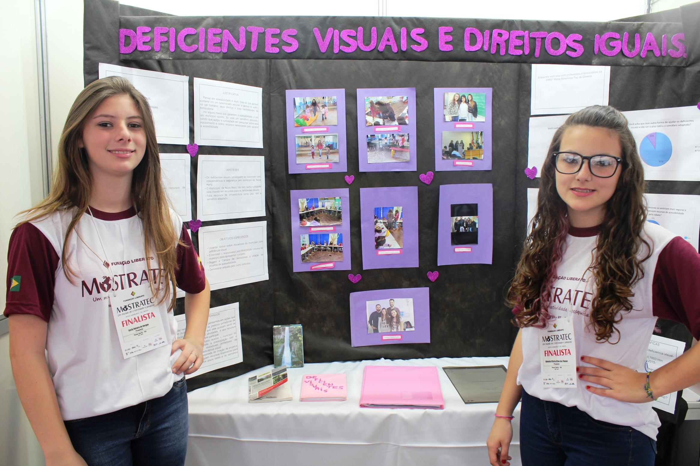 Na Mostratec Junior, acessibilidade foi um dos assuntos mais abordados pelos estudantes