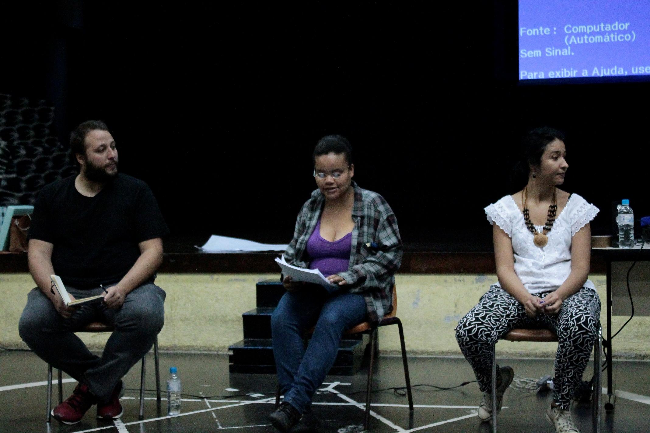 Os historiadores Fábio, Lilian e a jornalista Fernanda são membros do coletivo Crônicas Urbanas, que trabalha direito à cidade com perspectiva racial
