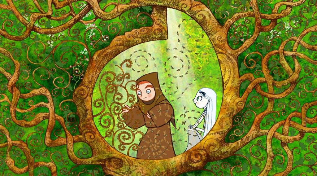 cenas de dois personagens do filme