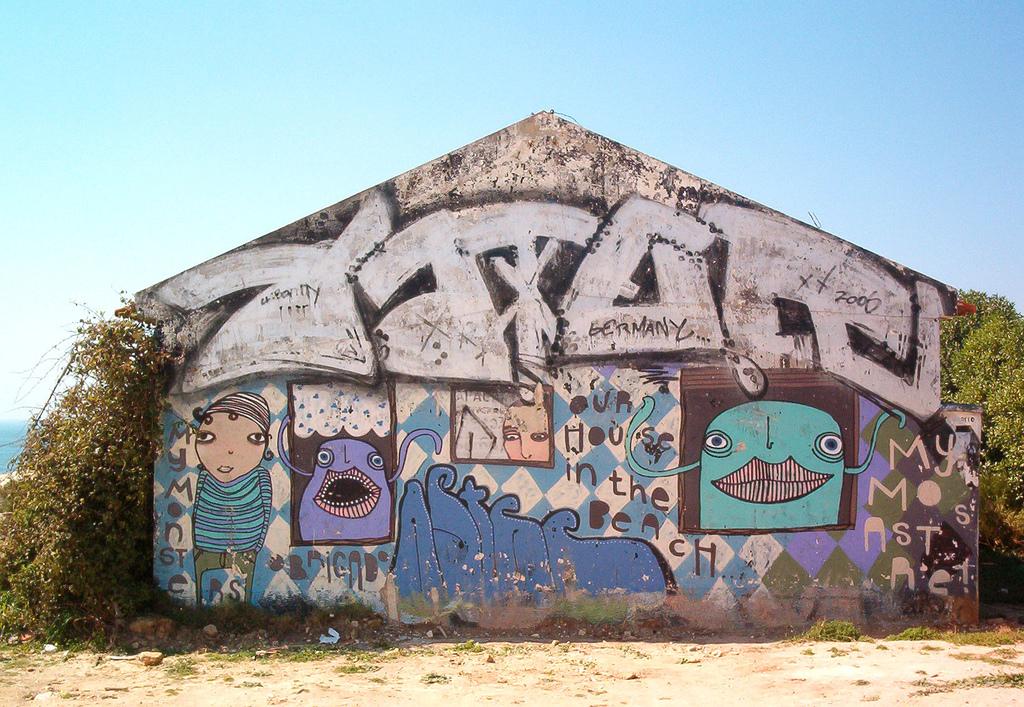 grafite em cascais