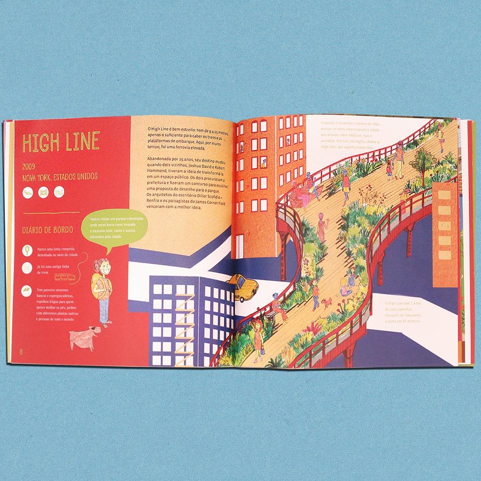 livro aberto mostra como é o livro casacadabra por dentro