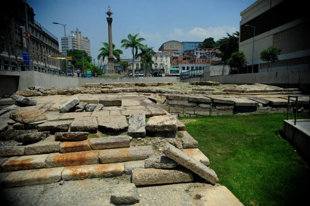 Monumentos e locais importantes na história do Rio de Janeiro.