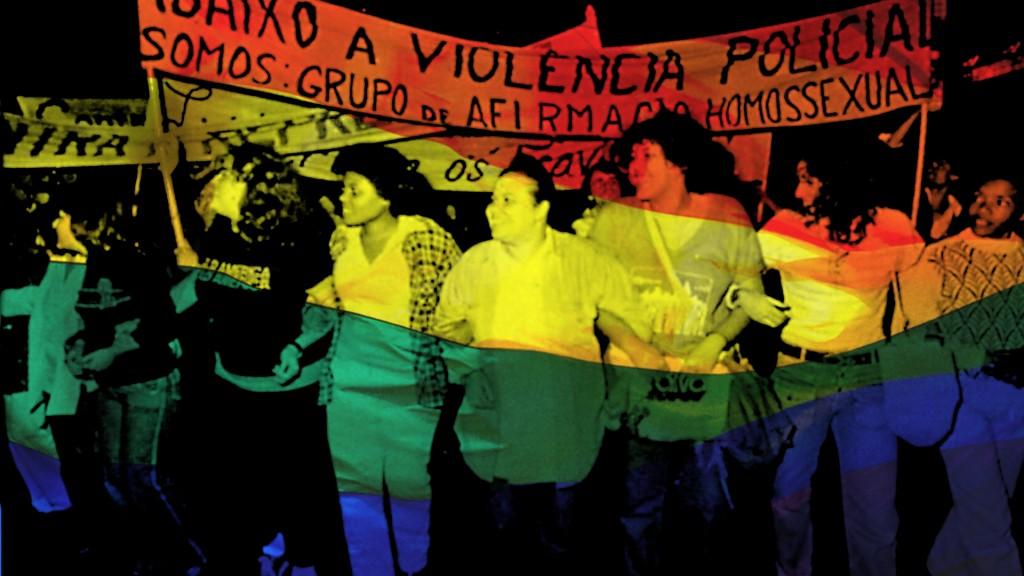mulheres do movimento lésbico lutando contra ditadura