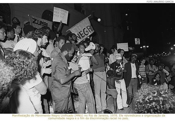 movimento negro lutando contra ditadura militar
