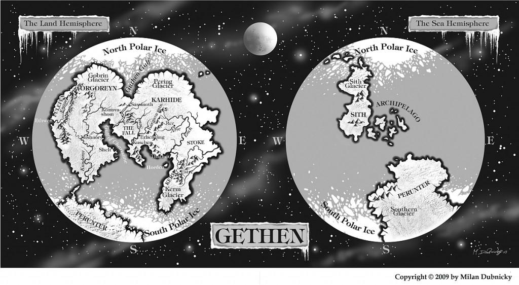 ilustração sobre gethen