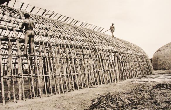 construção de maloca