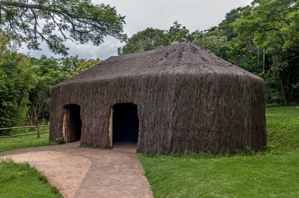 oca construída pela etnia kamaiurá